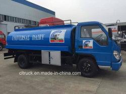 Forland Dongfeng HOWO Isuzu Foton 2cbm 5cbm 7cbm 4X2 Mini Fresh Dairy Cow Ice Cream Melk Tank Truck met koeltank te koop