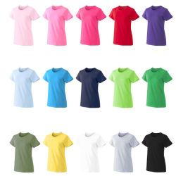 رخيصة جلّيّة قمزة عالة علامة تجاريّة [180غ] قطر طبق [ت-شيرت] بالجملة في ضخمة نساء [ت] قميص