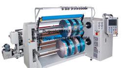 Macchina di taglio ad alta velocità elettronica della pellicola protettiva con la tagliatrice di riavvolgimento di Shaftless