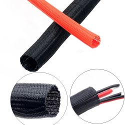 Funda cable trenzado de la oficina en casa equipo cable Auto funda Manamegent