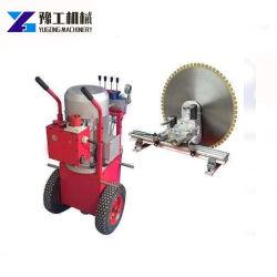 Diamond mur de béton a vu une scie circulaire Machine Machine de découpe de barres en acier