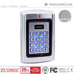 Métal porte RFID Contrôle d'accès Clavier avec lecteur de carte