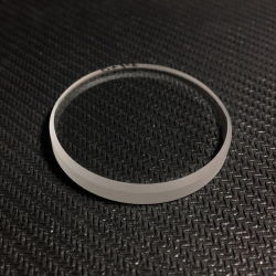 Diametro da 26.5mm al vetro dell'orologio piano rotondo dello zaffiro di spessore 1mm di 28mm Windows