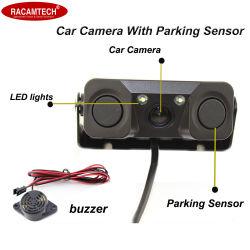 Het Omkeren van de auto de Sensor van het Parkeren van de Camera met Camera Drie van de Radar in