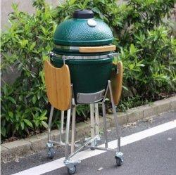Grün Kamado des Ei-22inch keramisches BBQ-Gitter