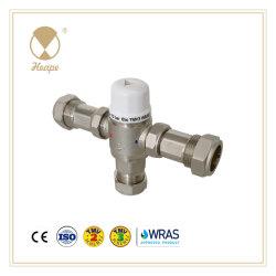 Heape Novo Tmv2/3 Bronze com um termóstato de água da válvula de mistura para hardware, revenido válvula, válvula de Mistura, Temp. De admissão de ar