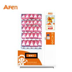 Inteligente Afen Comida Instantânea Snack-Bebidas Bebidas saudáveis Ginásio Fornecedor dispensador da cápsula de Máquina de Venda Directa