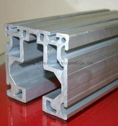 Met een laag bedekte het Poeder van uitstekende kwaliteit anodiseert Molen beëindigt de Industriële Profielen van het Aluminium