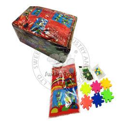 Het kleurrijke Plastic MiniStuk speelgoed van het Suikergoed van Puzzels