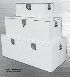 La caja de herramientas portátiles para carretilla sitio de trabajo Caja de almacenamiento