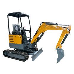 Génie du bâtiment Micro Diggers Crawler mini-excavateur Petite hydraulique de benne de chargeur Prix pour la maison, jardin, l'Agriculture