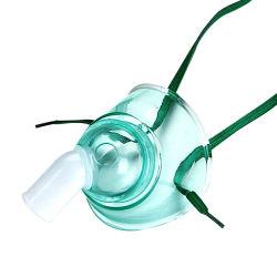 Maschera di ossigeno per tracheostomia senza DEHP con comodo tocco e rotazione 360 Connettore