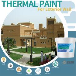 Peinture en aérosol Zanshare isolation thermique des produits chimiques et étanches Textrue Exterinal mur Revêtements architecturaux