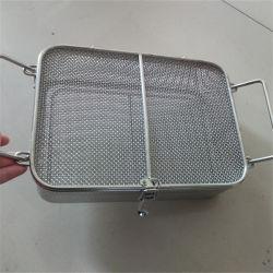 ハーブの乾燥のための304ステンレス鋼の金網のバスケット