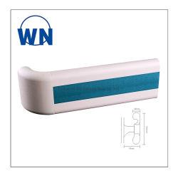 140 mm de largura, tampa de PVC corrimão de alumínio no Hospital Wn-H140