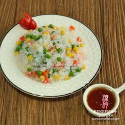 健康食のグルテンの有機性ゼロカロリーの白いKonjac食糧Konjac米
