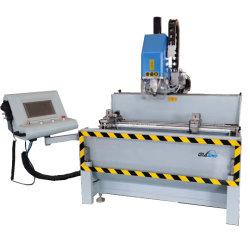 Aluminium/UPVC/PVC Automatische Fenster- und Türprofil CNC Türverriegelung Loch Bohren Fräsen Schneidemaschine