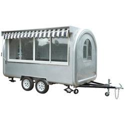 Chariot Mobile alimentaire personnalisé Café Street cold drinks opération facile Barbecue Cuisine Boutique Panier alimentaire Aliments Remorque mobile