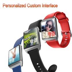 """La Haute Définition 1.3"""" de couleur carré écran IPS montre numérique intelligent de la fréquence cardiaque de la pression artérielle Moniteur de conditionnement physique étanches IP68 Soutien-gorge sport musique Bluetooth Smart"""