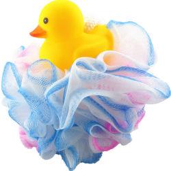 Giocattolo animale bello della sfera dell'acquazzone del bagno dei bambini per il soffio del bagno della maglia del corpo della stanza da bagno dei bambini del bambino