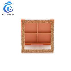 Горячие продукты матовая пустого пластикового макияж 4 цветов Eyeshadow компактный