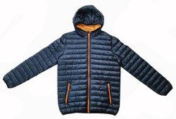 Los hombres de Moda Invierno chaqueta impermeable con capucha (TPU recubiertos).