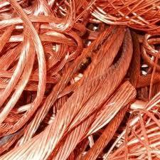 Fio de metal de cobre de sucata metálica desperdícios de fios de cobre em pó de cobre