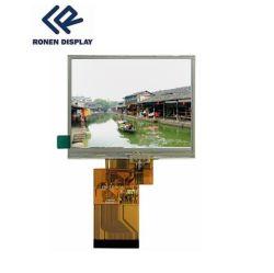 Ronen RG-T350mtqv-02p 3.5 インチ高輝度 320*240 TFT LCD ディスプレイ タッチスクリーンを使用
