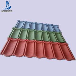 أوراق السقف عالية الجودة ضمان 50 سنة لون ستون مطلي المعدن مصنع ألواح السقف سعر الخوسل صنع في الصين