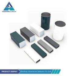 Tuyau anodisé de couleur tente de flexion de 5 mm de pôle refoulées Custom tube carré télescopiques en aluminium