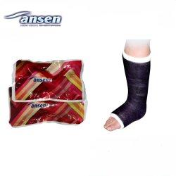Bandagem Ortopédica médica Fita de fundição de fibra de vidro para uso hospitalar e clínica