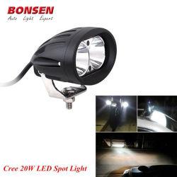 Chariot élévateur à fourche Spot LED Avertissement de sécurité de l'entrepôt de la lampe témoin 10W Chariot élévateur à fourche éclairage LED pour véhicule hors route remorque de camion 4x4