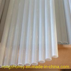 Temperatura Alta Quartz tubos de vidro de quartzo opaco tubos de vidro