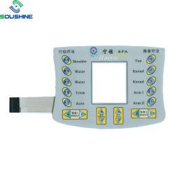 Kundenspezifisches intelligentes Elektronik-Dünnfilm Belüftung-Panel schält Membranen-Tastaturblock