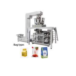 Настраиваемые автоматическое заполнение Doypack машины кунжутного кондитерской упаковки продуктов питания машины