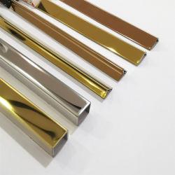 벽 장식적인 지구를 위한 스테인리스 U 유형 단면도 손질 가장자리 금속 프레임