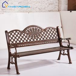 Banc de trois places des chaises en métal balcon chaises de jardin mobilier extérieur