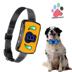 Aquarium Pet recarregável não formação de casca de Cão parar o colar de Barking Anti treinamentos de casca de colar de travamento