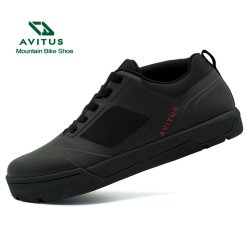 Avitus Mens MTB Freestyle calçados para Pedal Plana Bom para Freeriders e DH DJ piscina sapatos de bicicletas homens Sapatas Bicicletas