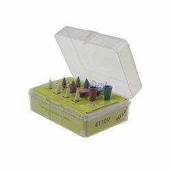 الأسنان الأسنان الأسنان عالية الصقل السيلكون مجموعة أدوات تلميع مركبة (Intra-Oral/Full Version for Polish Porcelain, Ceramics. 12 تلميع مطاطية مركبة للكمبيوتر/الصندوق
