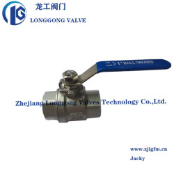 1 بوصة-4 بوصة اقتصادي 1000wog/2000wog 1PC/2PC/3PC Ball Valve SS304/SS316/WCB NPT/BSP/BW/SW قفل ISO5211 لوحة