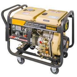 Cilindro único 2.5kw resfriado a ar Soldador diesel do gerador de emergência portátil