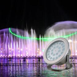 IP68 водонепроницаемый 36W Ss смены цветов светодиод под водой бассейн лампа