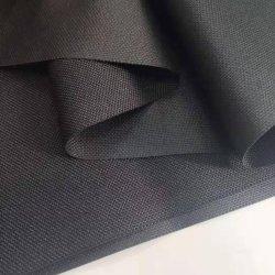 قماش البولي يورجارد Pongee ببوليستر مع طلاء PU أبيض/قماش جيد التهوية