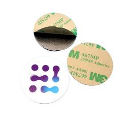 Campione gratuito adesivo passivo antivetativo antivetallico MIFARE Tag disco RFID Classic 1K NFC PVC