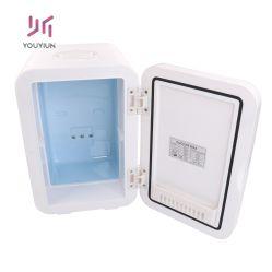 Blanco 8 litro más caliente del refrigerador portátil compacto mini nevera para dormitorios, oficina, dormitorio, alquiler, ideal para cremas y Cosméticos (110-240 V/12V), visite la tienda Cooluli