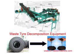Отходы перерабатывающая установка шин, перерабатывающая установка шин
