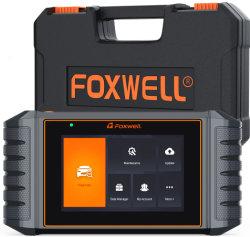 قارئ الرمز الشريطي لـ Foxwell Nt716 OBD2 Car Diagnostic Tool 4 نظام تخطيط المعالجة (TPS) للزيت نظام مراقبة ضغط الإطارات (TPMS) ونظام مراقبة ضغط الإطارات (TPMS) ونظام ماسح السيارات