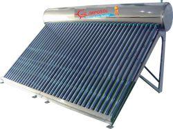 Sistema solare compatto del riscaldamento dell'acqua della valvola elettronica per il progetto