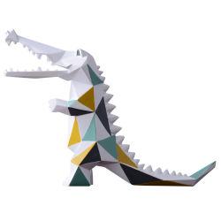 Mosaik-Krokodil-Luxuxdekoration-kundenspezifischer Hauptdekor